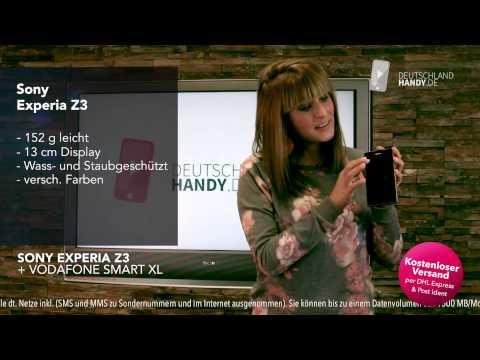 Sony Experia Z3 + Vodafone Smart XL Handyvertrag ☆ deutschlandhandy.de ☆