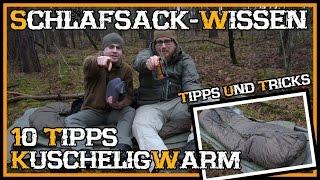 Top 10 Schlafsack Tipps für Anfänger/Neueinsteiger  - Outdoor Bushcraft Deutschland