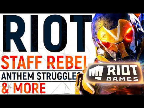 The Riot Games Staff Rebellion, Anthem Just Lost Key Staff & Upset Players By REMOVING Loot & MORE!