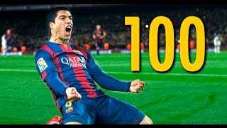 Luis Suarez - All 100 Goals for FC Barcelona ||HD||