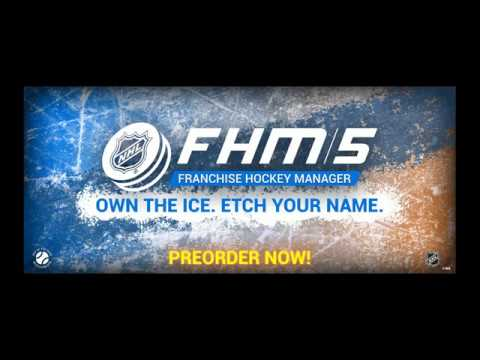 Own The Ice. Etch Your Name. Franchise Hockey Manager 5 - First Reveal! thumbnail