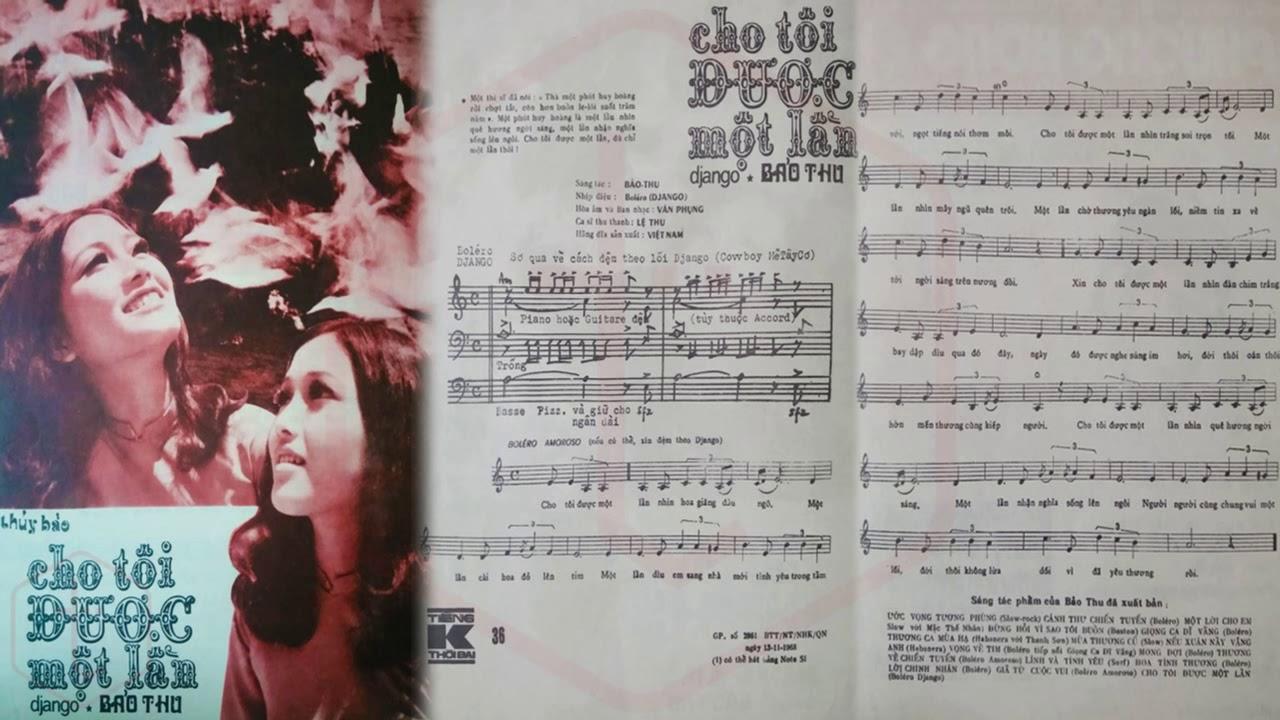 Hình ảnh Tờ Nhạc Xưa
