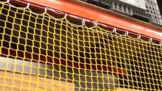 Safety Netting, Elevating Rack Guard - InCord