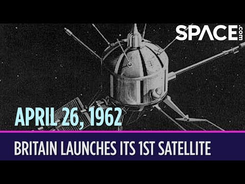 OTD in Space – April 26: Britain Launches Its 1st Satellite