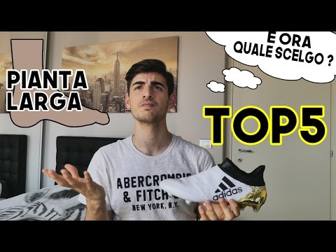 TOP 5 | Scarpe per pianta larga