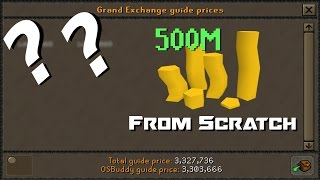 OSRS 500m From Scratch: Bank Of Brothers - Episode 1