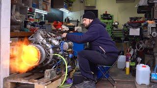 Turbowellenmotor 9I56 - 70 Liter Verbrauch pro 110 PS. Wie gefällt dir das?