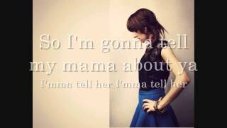 "Christina Grimmie ""Tell My Mama"" Lyric video HD"