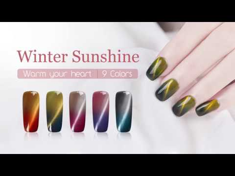 New Arrivals!!! BORN PRETTY Thermal 3D Cat Eye Gel Polish-Tutorial