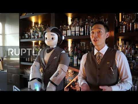 Σε μπαρ της Νότιας Κορέας σε σερβίρουν... ρομπότ!