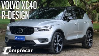 Avaliação: Volvo XC40 R-Design