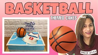 BASKETBALL THEMED CAKES By Cathymagat/ofw Cakes Maker