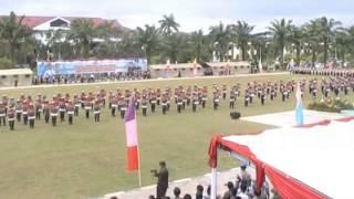 preview picture of video 'PERAGAAN SISWA DIKTUK BRIG DALMAS 2013 SPN PONTIANAK'