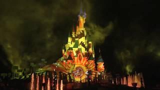 Disney Illuminations - part 1. Christmas in Euro Disneyland, Paris