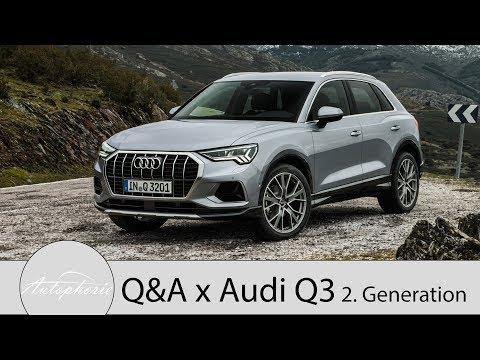 Neuer Audi Q3: Eure Fragen - Fabian antwortet (Hybrid, Materialen, SQ3,...) - Autophorie