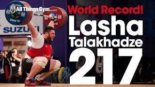 In case you havent seen it Lasha Talakhadze GEO 217kg Snatch World