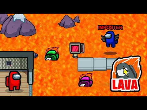 Imposter FLOOR is LAVA Ability in Among Us