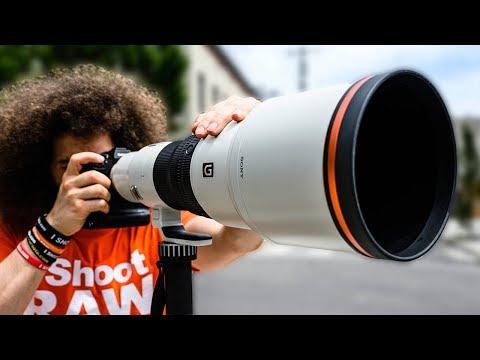 External Review Video Vl5FDG0jQfI for Sony FE 600mm F4 G Master OSS Lens (SEL600F40GM)