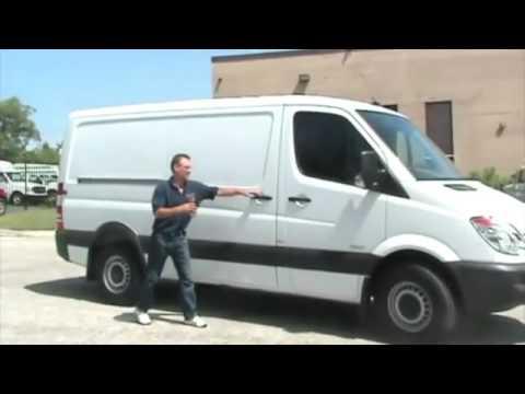 American Van Equipment - Slick Locks Installation - Mercedes Sprinter