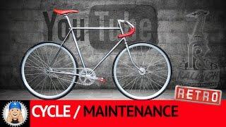 Raleigh Trent Fixed Wheel Bike Restoration