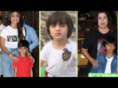Abram, Shilpa Shetty with son, Farah Khan and More