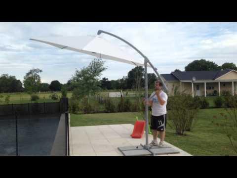 parasol de brazo aluminio JARDINSOL
