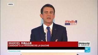 REPLAY - Discours de Manuel Valls, 2e derrière Benoit Hamon au 1er tour de la Primaire de la gauche