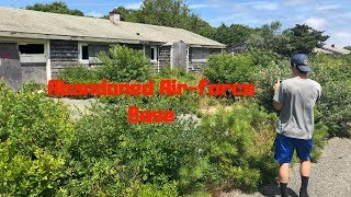 ABANDONED - Air-force Base (North Truro Cape Cod)