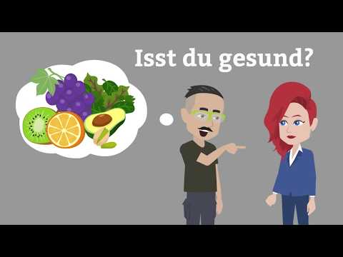 Online Deutsch lernen   einfache Dialoge für Anfänger üben   Konversation Deutsch als Fremdsprache