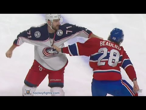 Nick Foligno vs Nathan Beaulieu