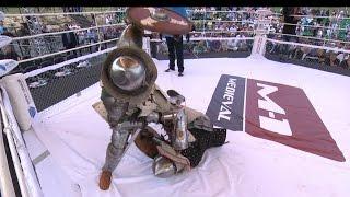 The hardest KO at M-1 Medieval!