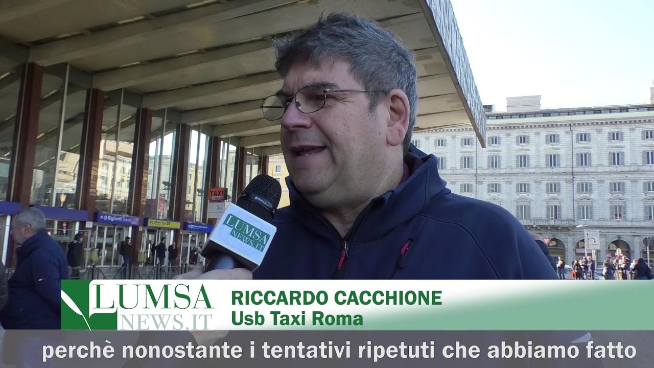 Tassisti in rivolta a Roma