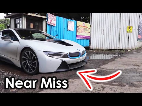 Indian Worst Roads Vs Supercars + Speedbreakers | BMW I8 | Mumbai | Supercars Of Mumbai | 2017