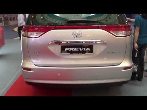 Toyota Previa 2014 Exterior & Interior Walk Around