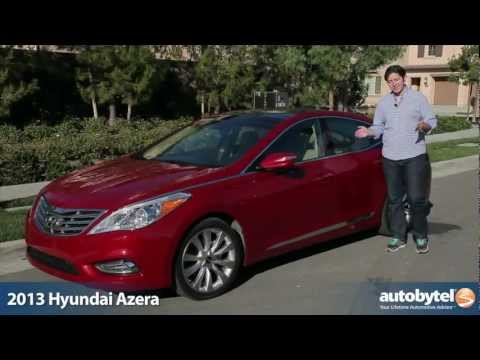 2013 Hyundai Azera Video Review