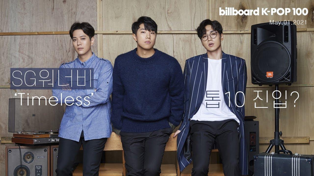 빌보드 케이팝 100 주요 순위 21.05.01