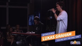 """""""You're Not The Only One""""   Lukas Graham LIVE"""