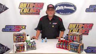 How-To Reduce Createx Airbrush Colors