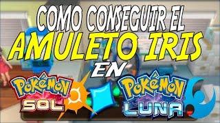 COMO CONSEGUIR EL AMULETO IRIS EN POKEMON SOL Y LUNA (SHINY CHARM)