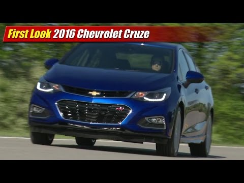 First Look: 2016 Chevrolet Cruze