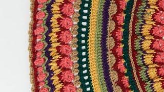 Crochet Mandala Stitch Along: Rnds 41 - 50