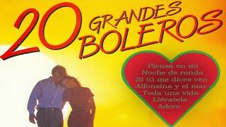20 Grandes Boleros - Grandes Intérpretes Del Bolero