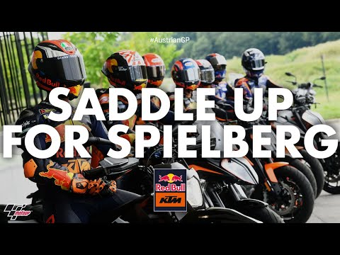 Full factory: KTM riders saddle up for Spielberg