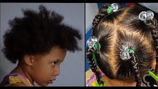 How To (Kids) Natural Hairstyles
