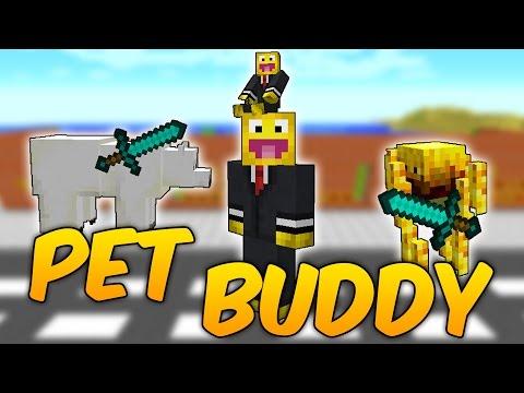 MOD PARA TENER UN MINI NOSOTROS: PET BUDDY MOD - REVIEW DE MINECRAFT MOD 1.10.2