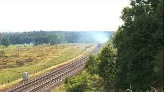preview picture of video 'Oliver Cromwell on The Norfolkman on 2 July 2011'