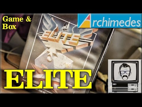 ArcElite/Elite Acorn Archimedes [Game & Box] | Nostalgia Nerd