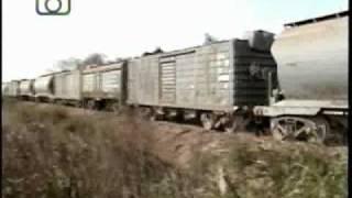 preview picture of video 'Tren cerealero de NCA saliendo de Villa del Rosario'