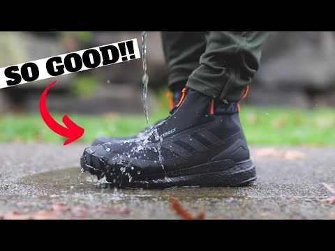 The BEST Waterproof Sneaker Boot! adidas Terrex Free Hiker Cold RDY Review & Comparison