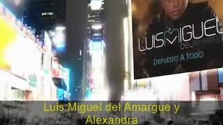 Video Nuestro Amor de Luis Miguel Del Amargue feat. Alexandra